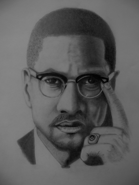 Malcolm X par dennisvandonzel